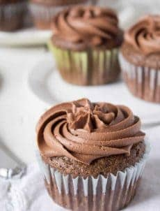 These chocolate mayonnaise cupcakes can be made in under 30 minutes.