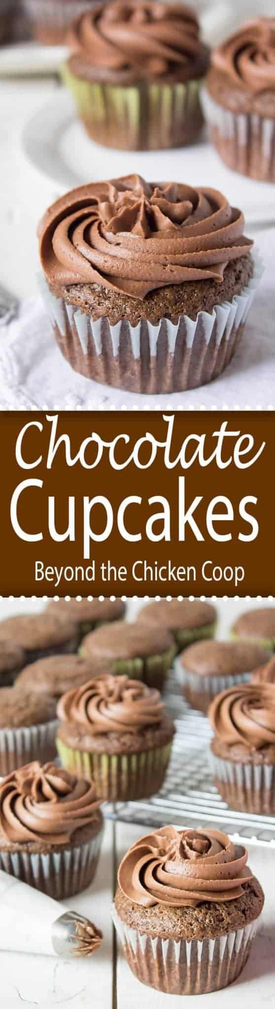 These chocolate cupcakes are made super moist with a secret ingredient...mayonnaise. Chocolate mayonnaise cupcakes will be your new favorite!