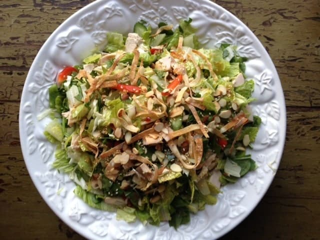 Oriental Chopped Chicken Salad