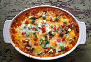 Quinoa Enchiladas