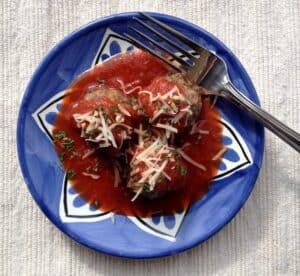 Italian Meatball Trio