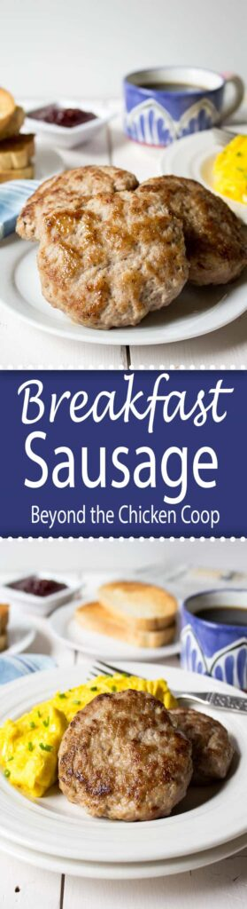 Make your own breakfast sausage with just a few simple ingredients