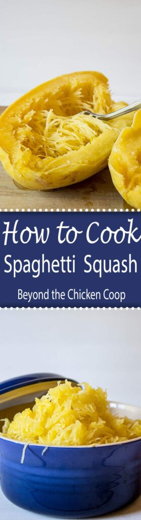 Tips on how to cook spaghetti squash by boiling the squash whole