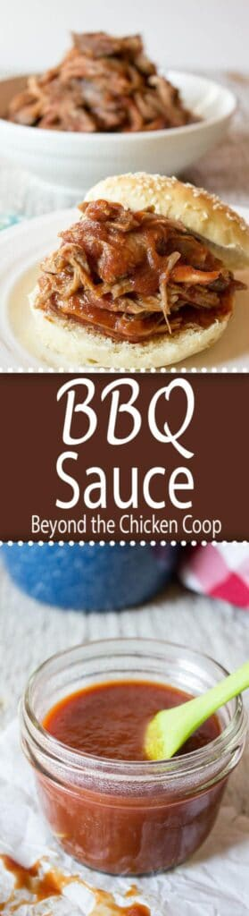 Homemade BBQ Sauce takes your grilling to the next level! beyondthechickencoop.com