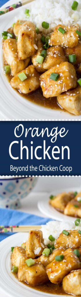 No need for takeout when you have this Orange Chicken! It will be you new favorite recipe!