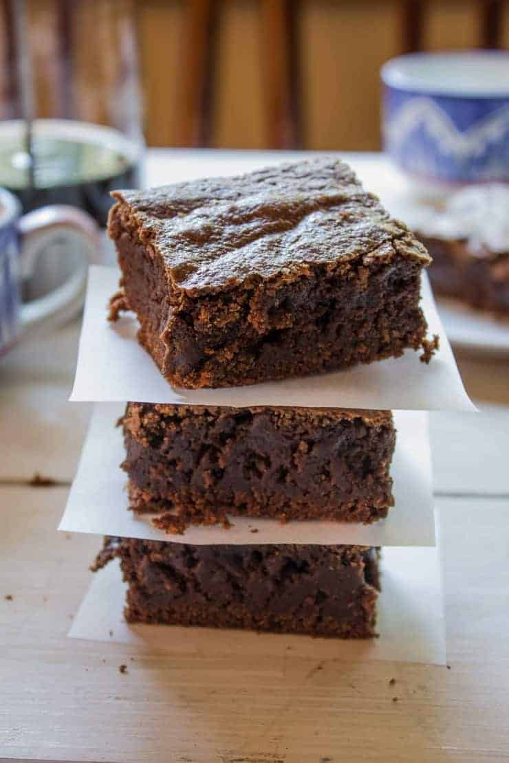 Rich and Chocolaty Homemade Brownies