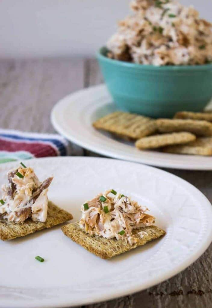 Smoked Salmon and Cream Cheese Dip is a perfect appetizer
