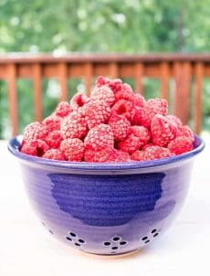 Freeze your fresh raspberries and make them last all year long.