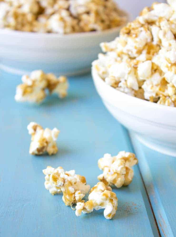Caramel Popcorn is perfect for sharing
