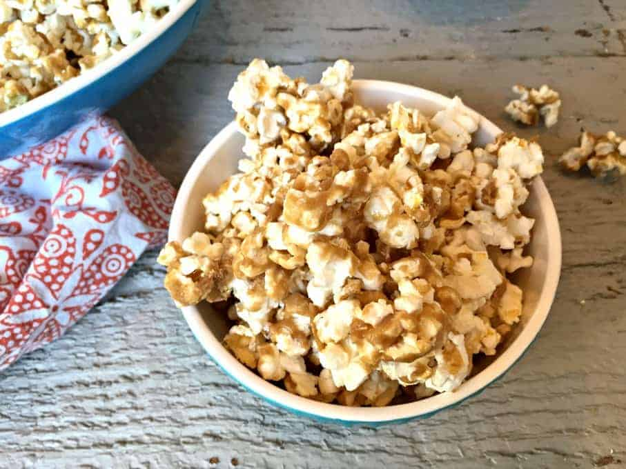 how to make butter sauce for popcorn