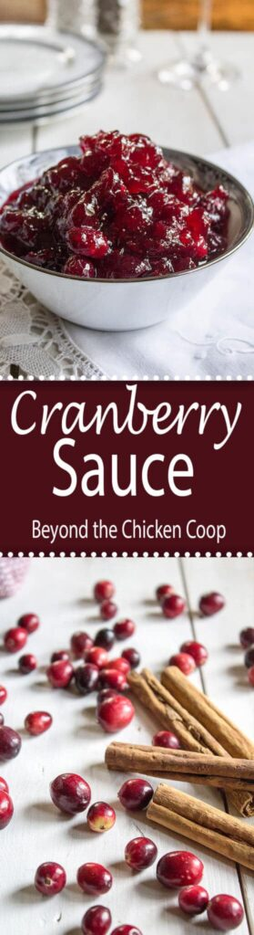 Whole berry cranberry sauce.