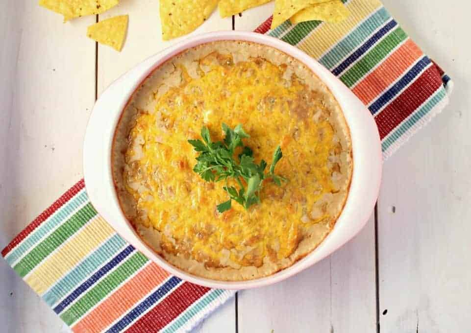Beans with Cheese Dip