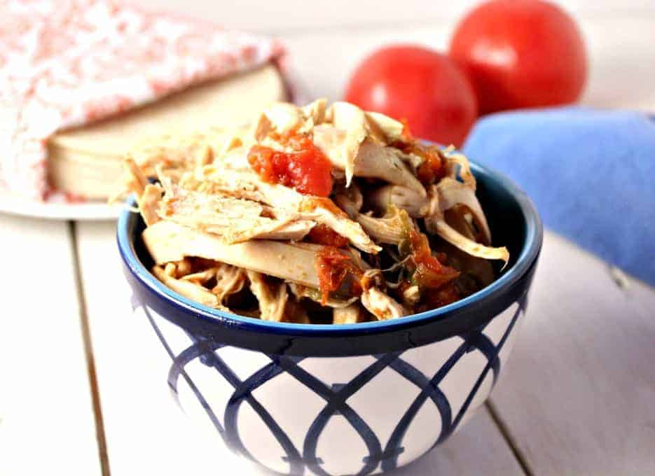 shredded chicken made easy in a crock pot