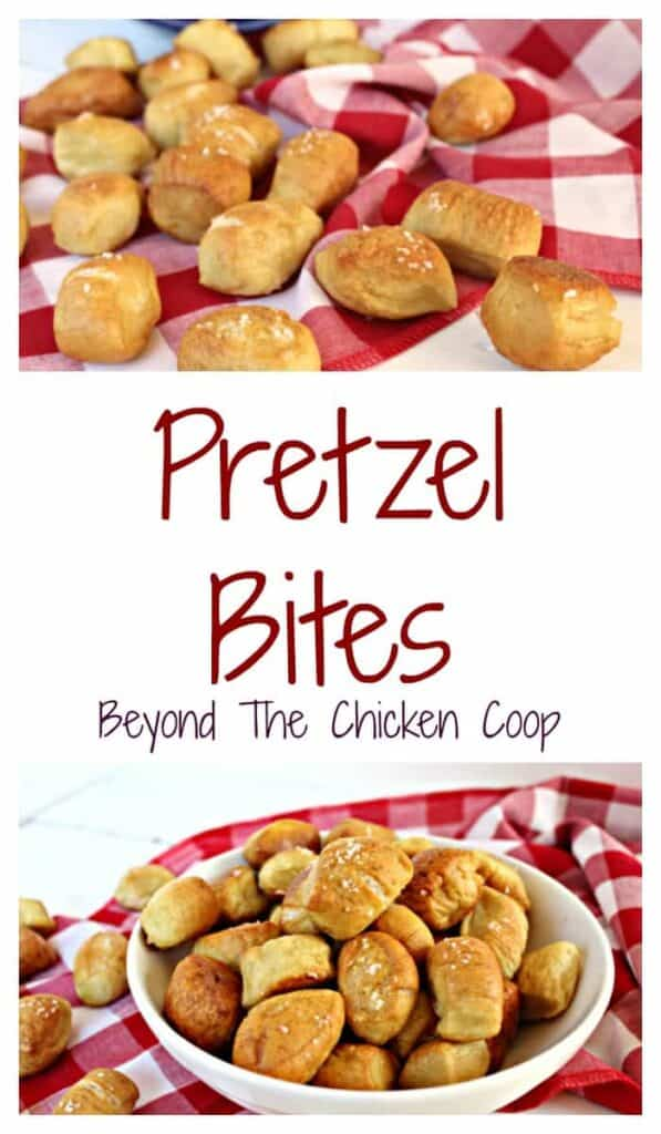 Pretzel bites are a perfect soft pretzel in a bite sized shape.