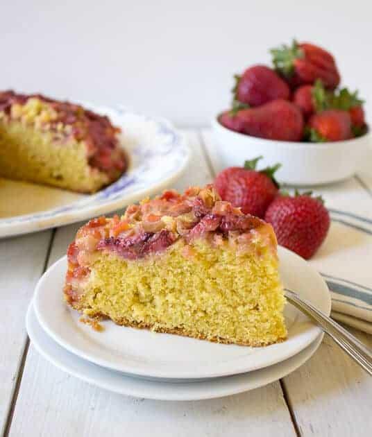 Strawberries In The Snow Cake Recipe