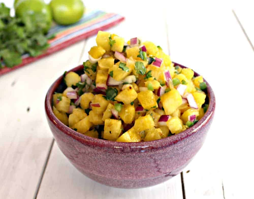 Pineapple Salsa - Beyond The Chicken Coop