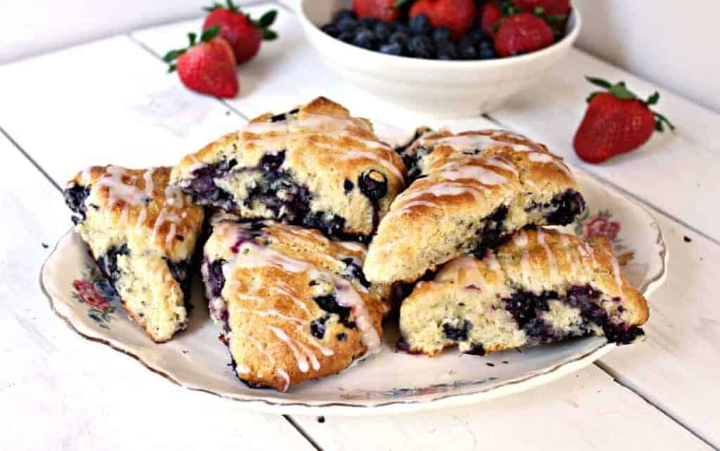blueberry lemon scones kathy april 4 2016 blueberry lemon scones are a ...