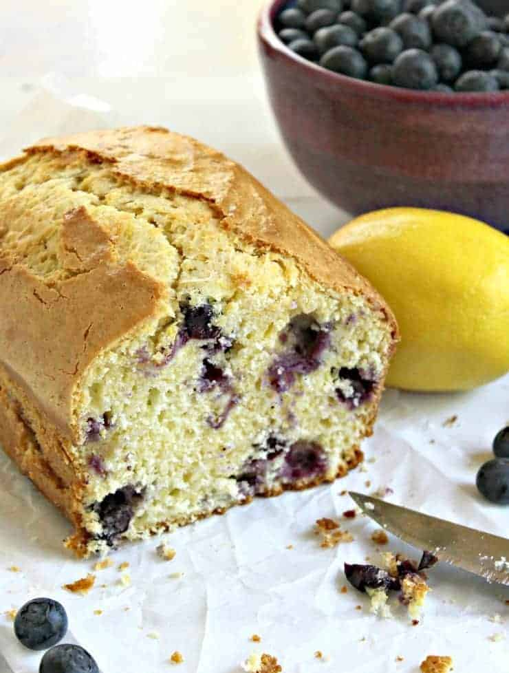 Blueberry Lemon Bread - Beyond the Chicken Coop