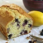 Blueberry Lemon Bread. Beyond the Chicken Coop