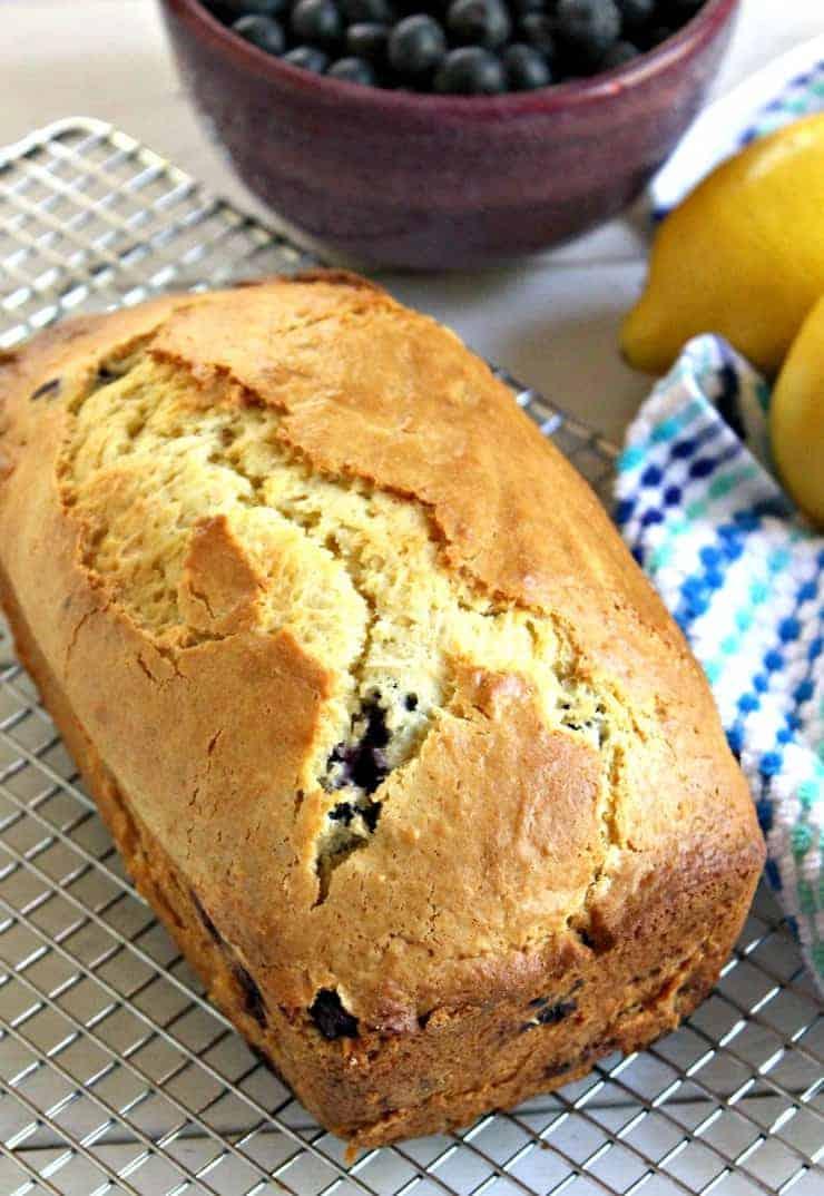 Blueberry Lemon Bread - Beyond the Chicken Coop