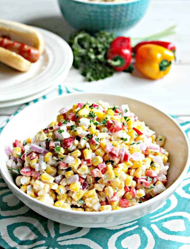Five Ingredient Corn Salad