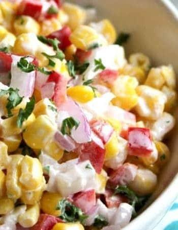 Five Ingredient Corn Salad