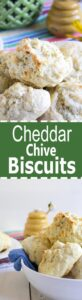 Cheddar Chive Drop Biscuits. beyondthechickencoop.com
