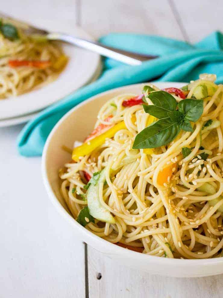 Thai Pasta Salad