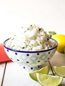 Cilantro Lime Rice is a perfect side dish for any Mexican dinner.