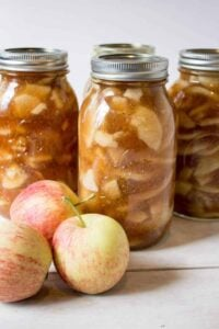 Apple Pie Filling - There's nothing better than making your own pie filling for a quick dessert!