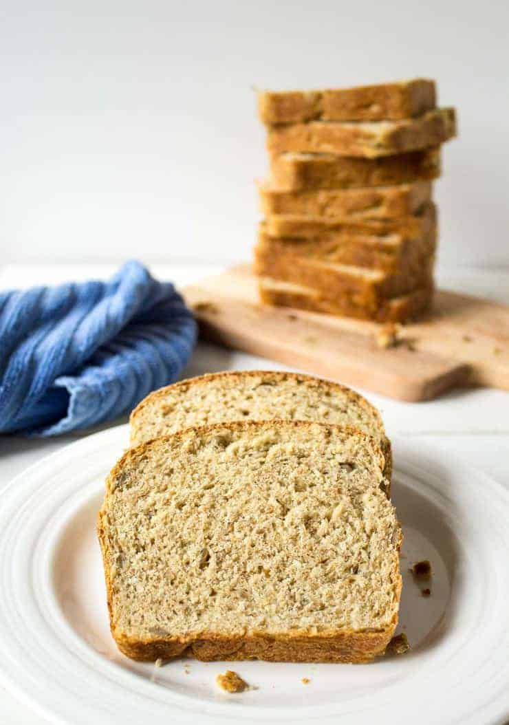 Multigrain Bread slices.