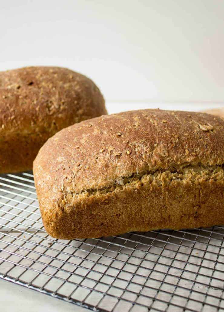 Multigrain Bread loaves