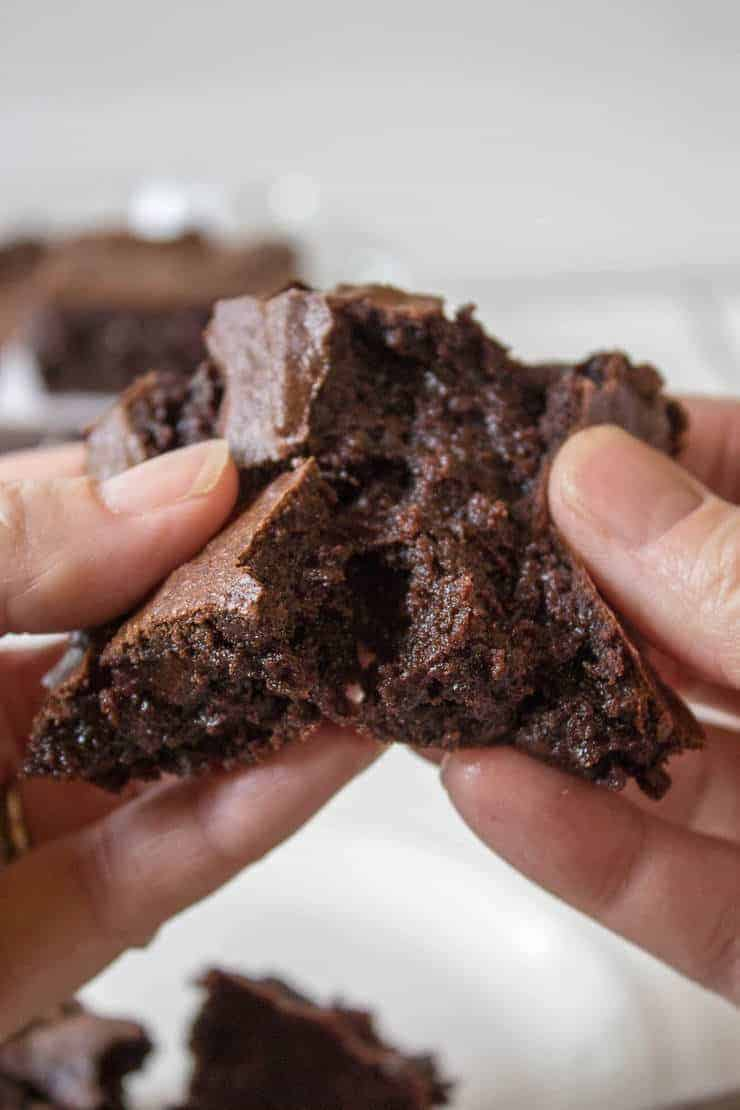 Double the Chocolate...One bowl fudgy brownies.