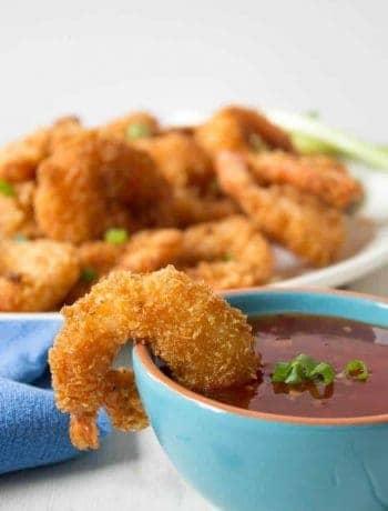 Crispy, Crunchy Coconut Shrimp