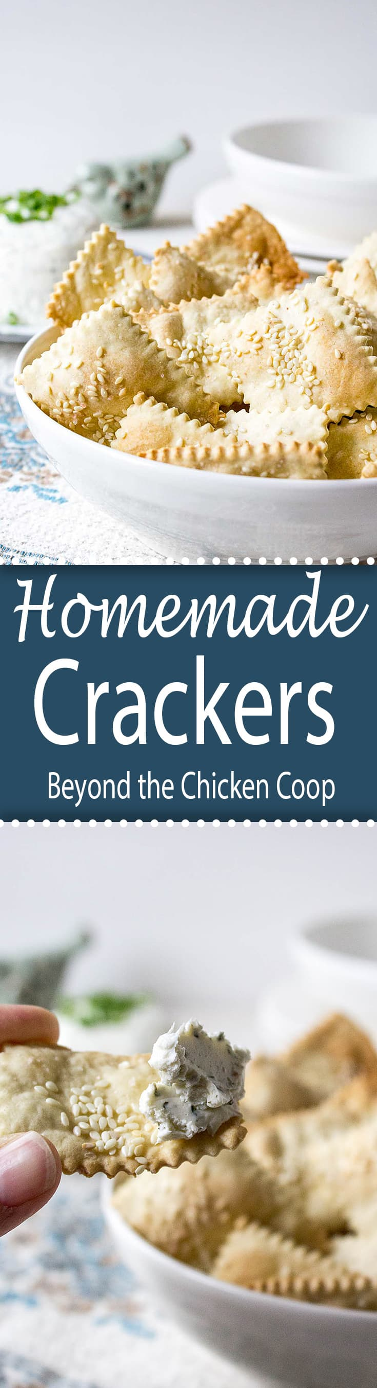 Impress your family and friends with these homemade crackers.