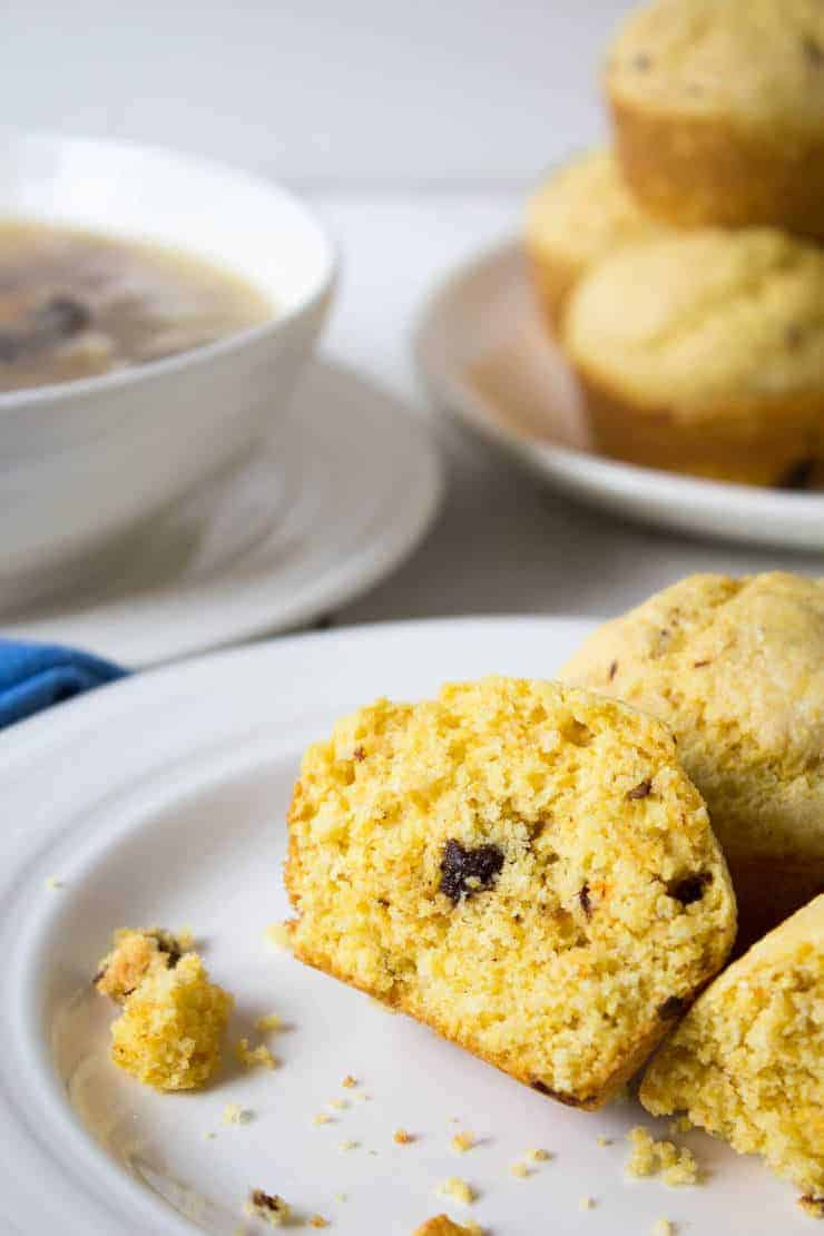 Chipotle Cornbread Muffins have just a touch of spiciness balanced with a touch of sweetness!