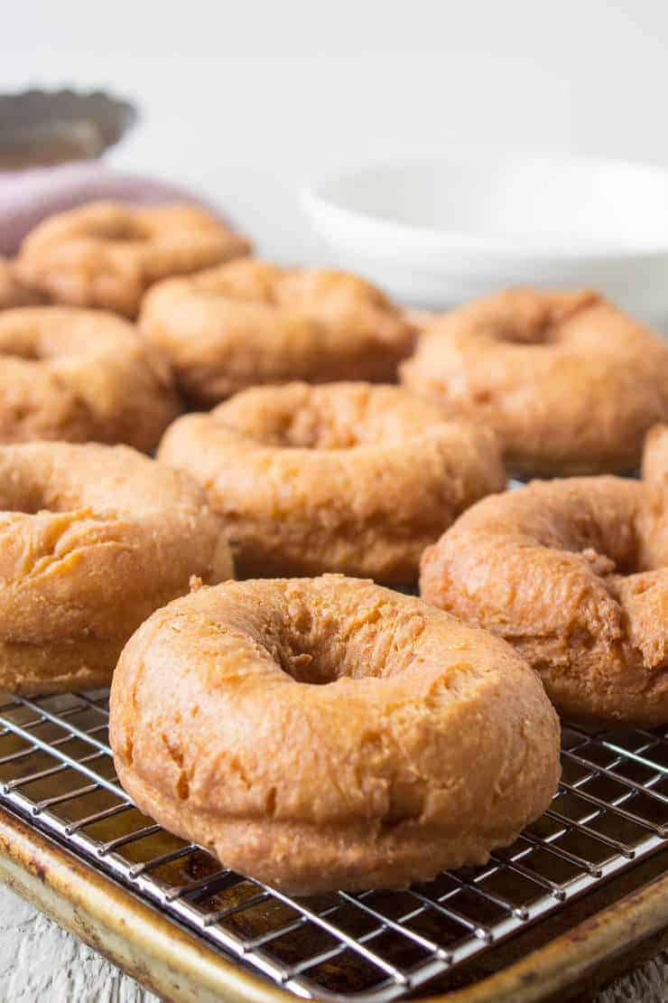 Cinnamon Sugar doughnuts are a perfect treat for anytime of the day!