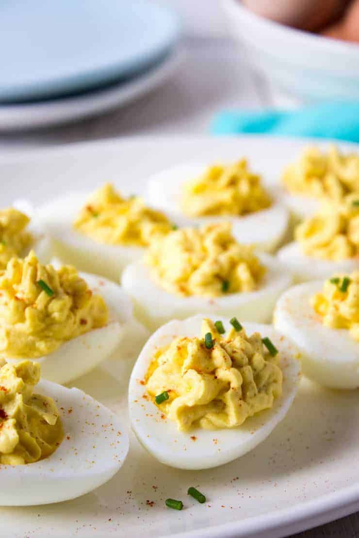 Classic Deviled Egg perfect anytime of the year.