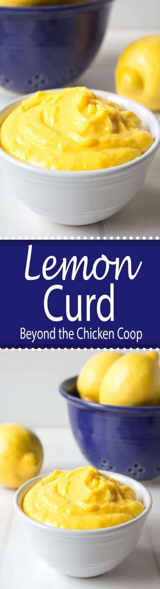 Deliciously tart lemon curd.