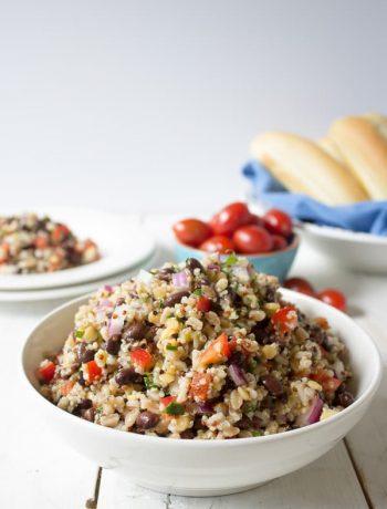 Quinoa Farro Salad