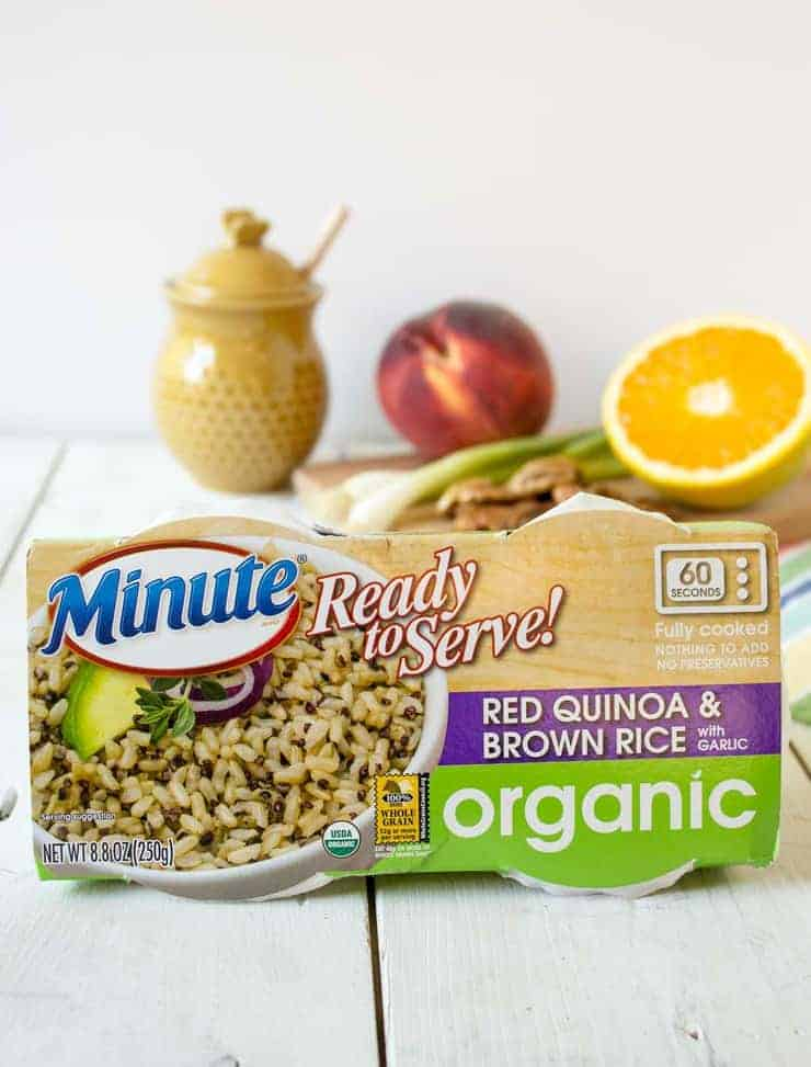 Minute Ready to Serve Organic Red Quinoa and Brown Rice