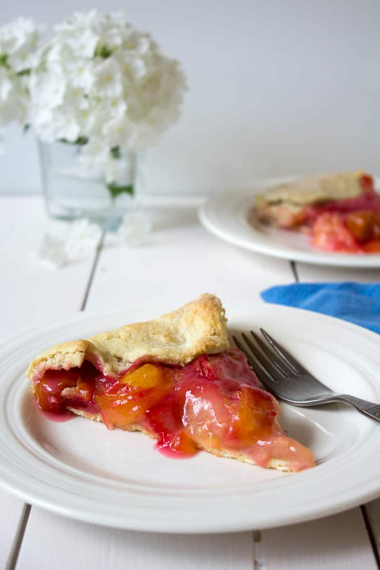 A slice of Plum Galette