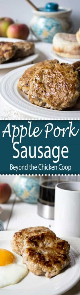 Apple Pork Breakfast Sausage