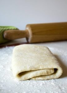 Quick and easy homemade puff pastry.