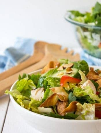 Oriental Chicken Salad makes a perfect meal.