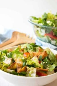 Oriental chicken salad makes a delicious lunch or a perfect light dinner