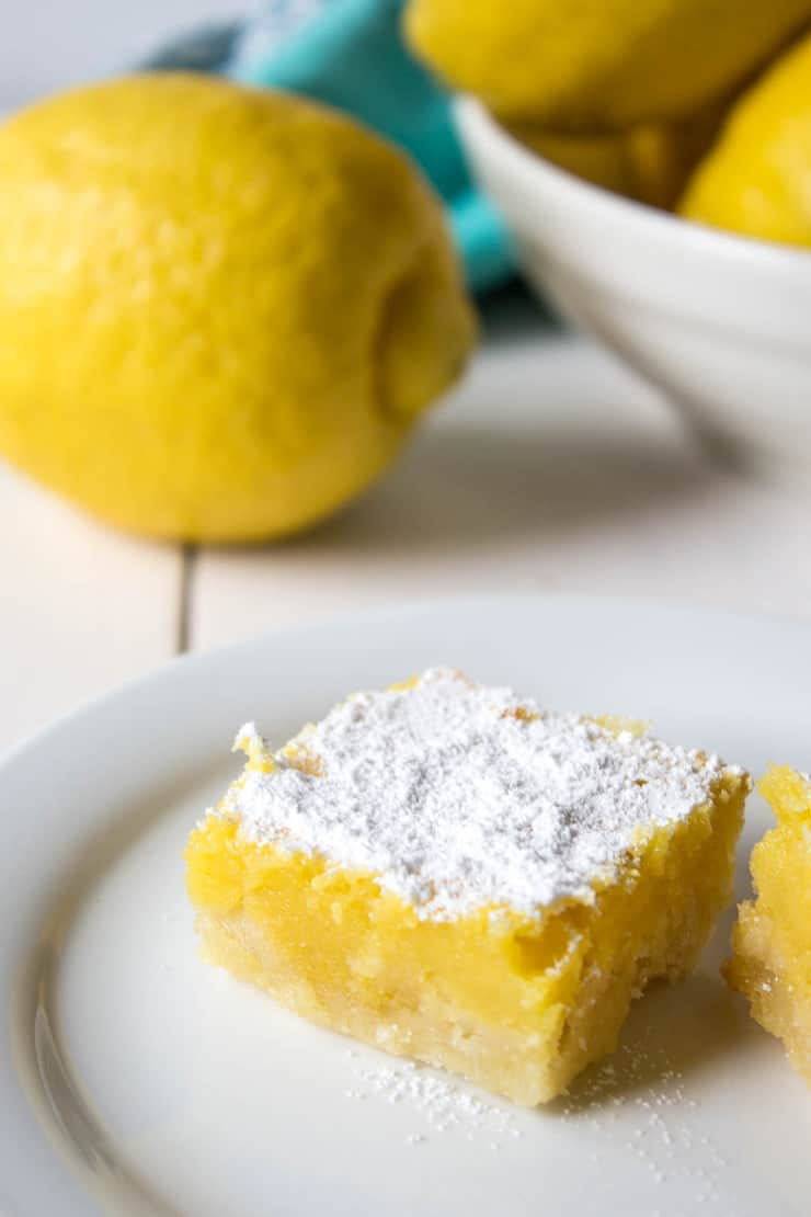 Extra lemony lemon bars. Your taste buds will love ya!