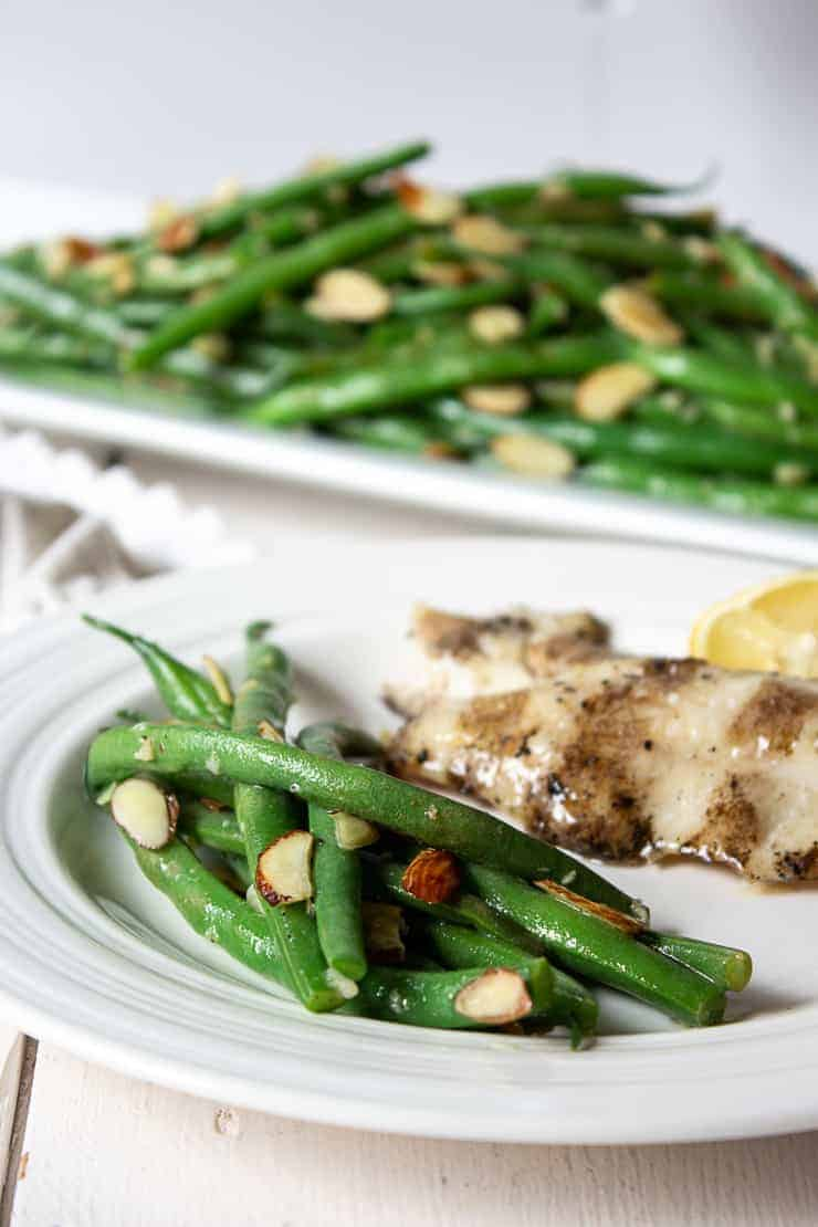 Green Bean Almondine goes with just about every entree. It's a perfect side dish to any meal.