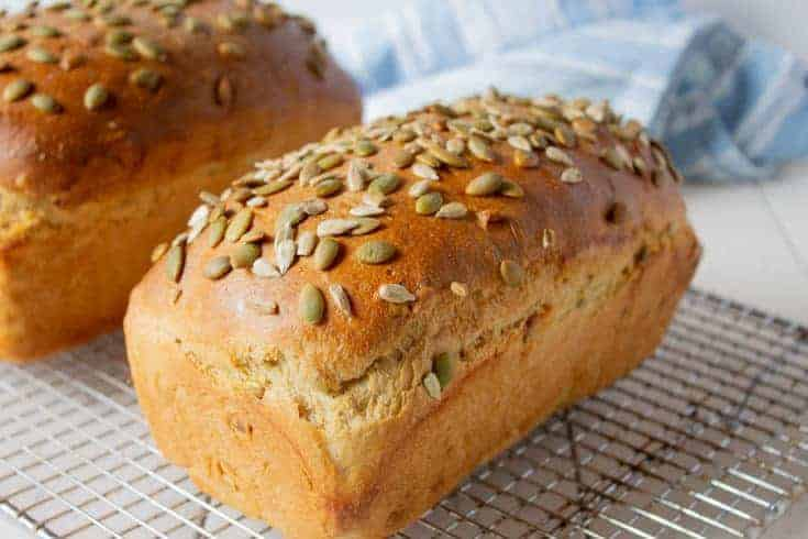 Pumpkin and Sunflower Seed Bread